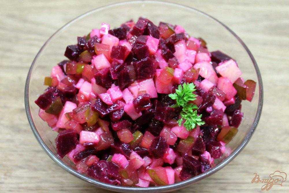 Салат из капусты и свеклы на зиму - 13 пошаговых фото в рецепте
