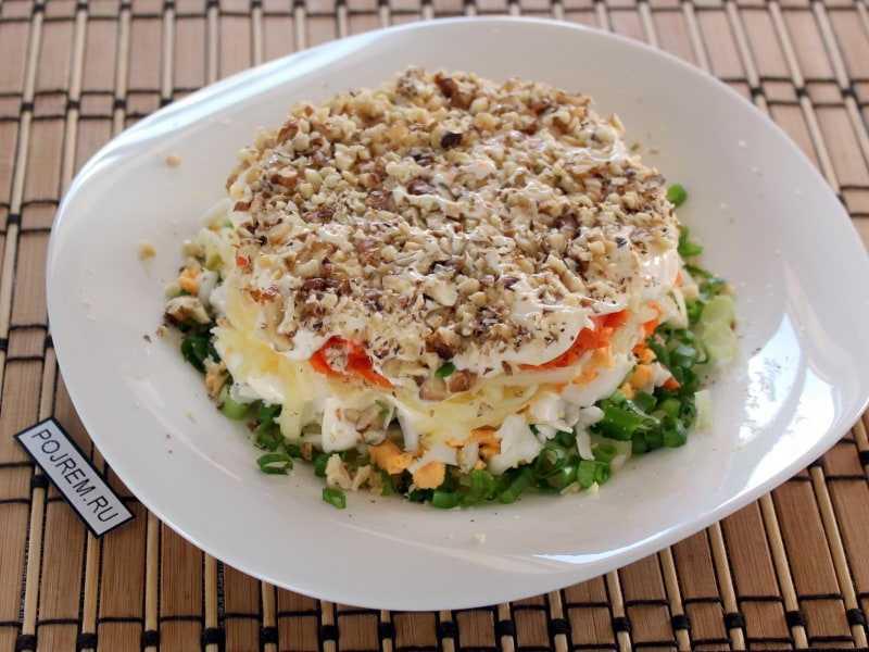 Салат из печени трески: 8 очень вкусных классических рецептов