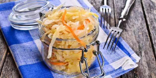 Квашенная капуста со свеклой: 8 рецептов приготовления