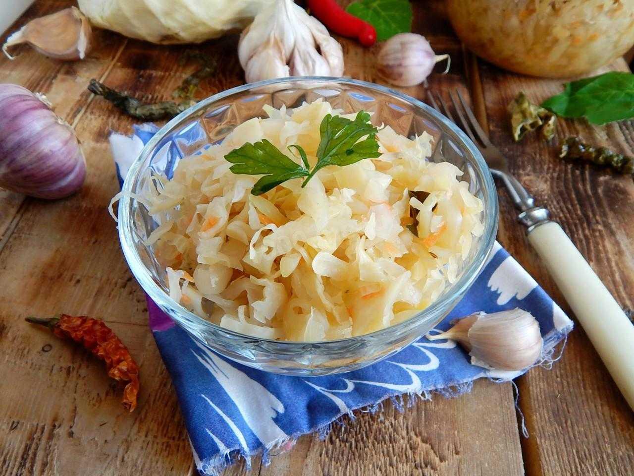 Маринованная капуста быстрого приготовления - самые вкусные рецепты