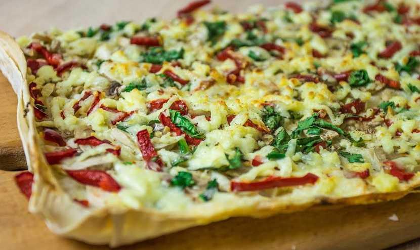 Пицца с рыжиками: рецепты с фото
