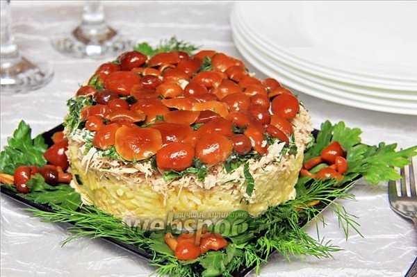 Салат ежик - оригинальное оформление вкусного блюда: рецепт с фото и видео
