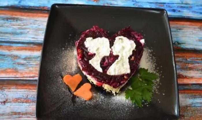 Салат «любовница» — пошаговый рецепт с фото