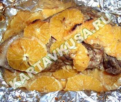 Свинина с апельсинами в духовке - рецепт с пошаговыми фото | ne-dieta