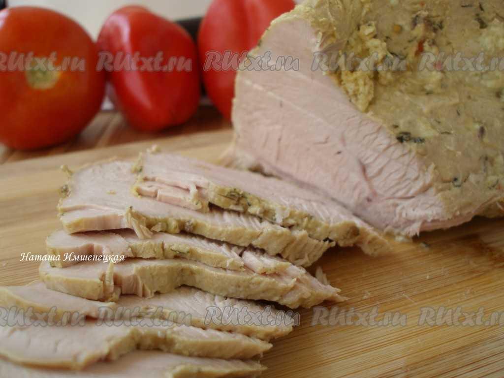Что такое буженина - как готовить в духовке или мультиварке из свинины, телятины или индейки с имбирем