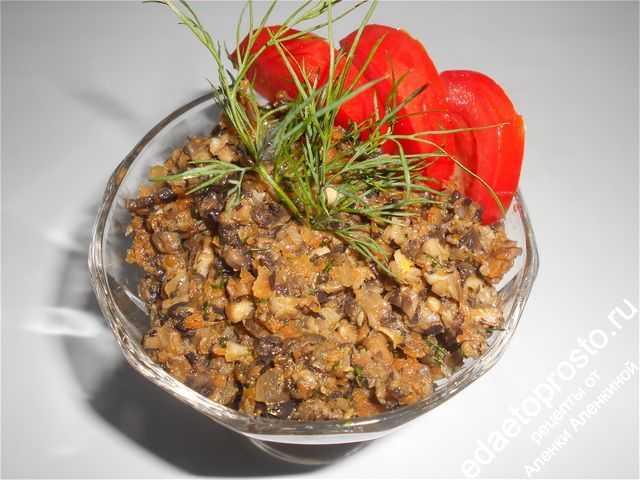 Грибная икра на зиму - самые вкусные рецепты приготовления икры из грибов