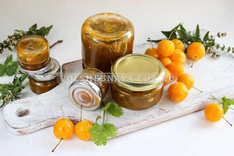 Как приготовить соус ткемали из алычи на зиму: 4 рецепта