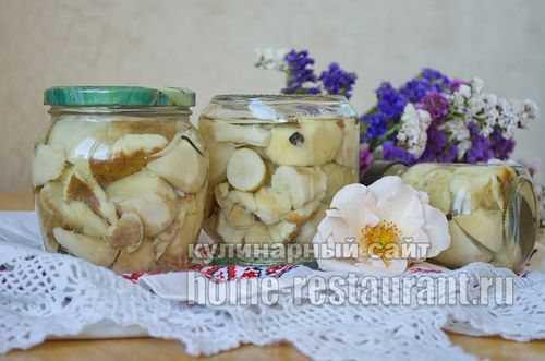 Можно ли мариновать вместе разные грибы? какие рецепты?