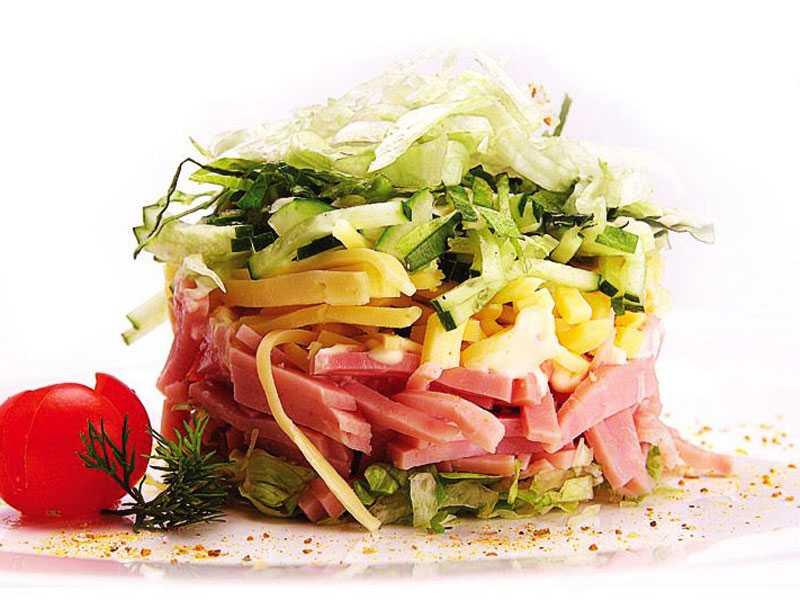 Салат царский с курицей рецепт с фото пошагово - 1000.menu