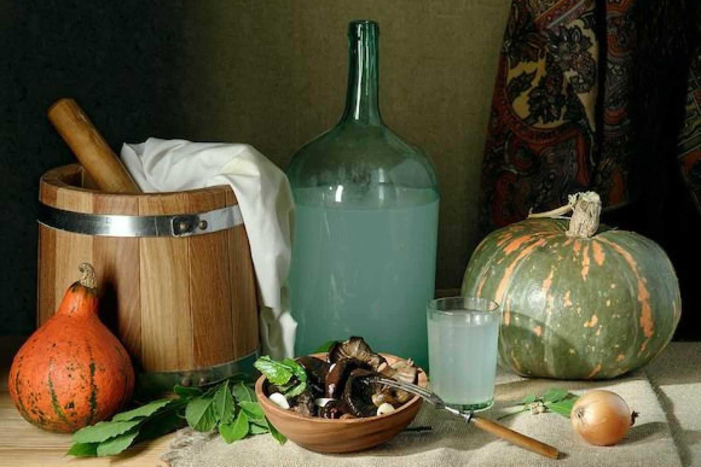 Самогон из тыквы: особенности сырья, лучшие рецепты и способы приготовления