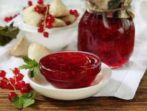 Варенье из красной смородины – 3 топовых фото рецепта