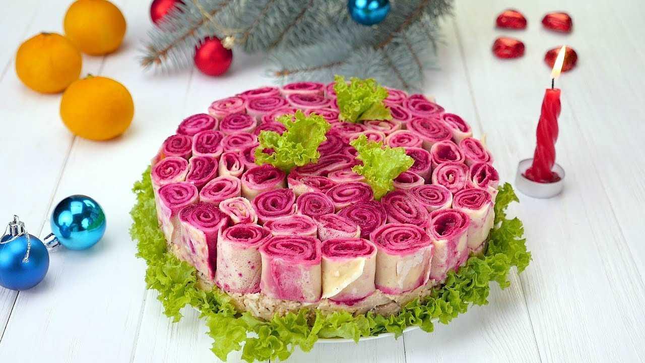 Салат букетик рецепт с фото пошагово - 1000.menu