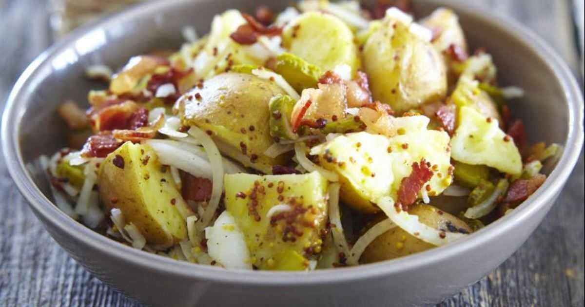 Как приготовить картофельный салат по американски: поиск по ингредиентам, советы, отзывы, пошаговые фото, подсчет калорий, удобная печать, изменение порций, похожие рецепты