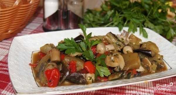 Баклажаны как грибы: рецепт приготовления и консервации на зиму