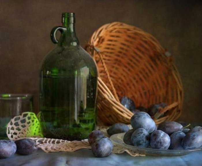 Вино из слив с добавлением сахара рецепт с фото - 1000.menu
