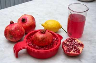 Гранатовый сок: способы приготовления и варианты хранения