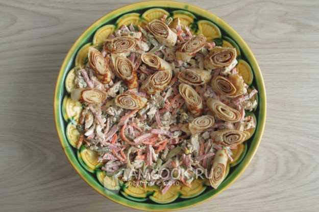 Салат из ленты кояш