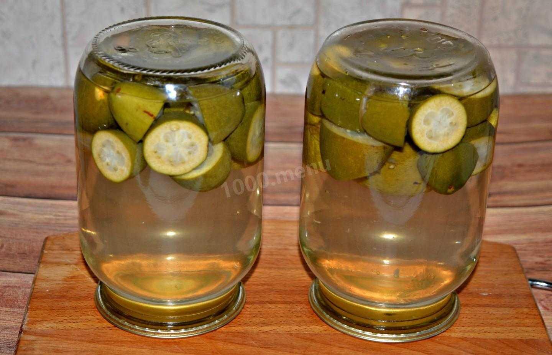 Компот из фейхоа на зиму: 10 лучших пошаговых рецептов приготовления, хранение