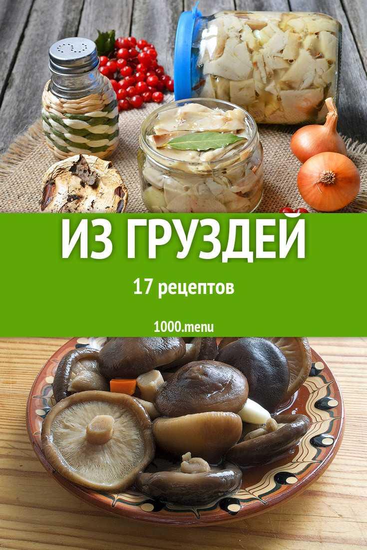 Салат с солеными грибами груздями рецепт с фото пошагово - 1000.menu
