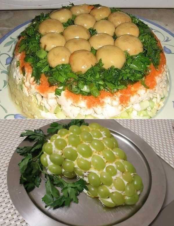 Как приготовить салат лесная поляна по пошаговому рецепту с фото