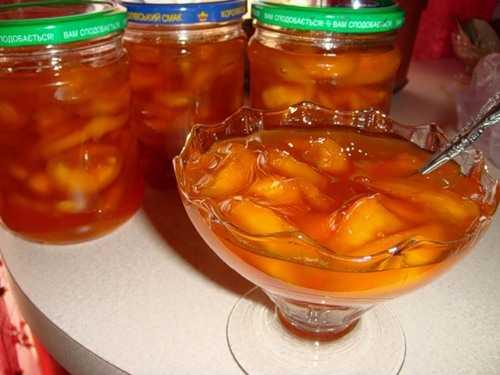 Заготовка джема из персиков на зиму: четыре способа приготовления вкусного персикового джема в домашних условиях