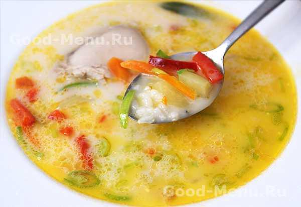 Сырный суп с плавленным сыром и грибами рецепт с фото пошагово - 1000.menu