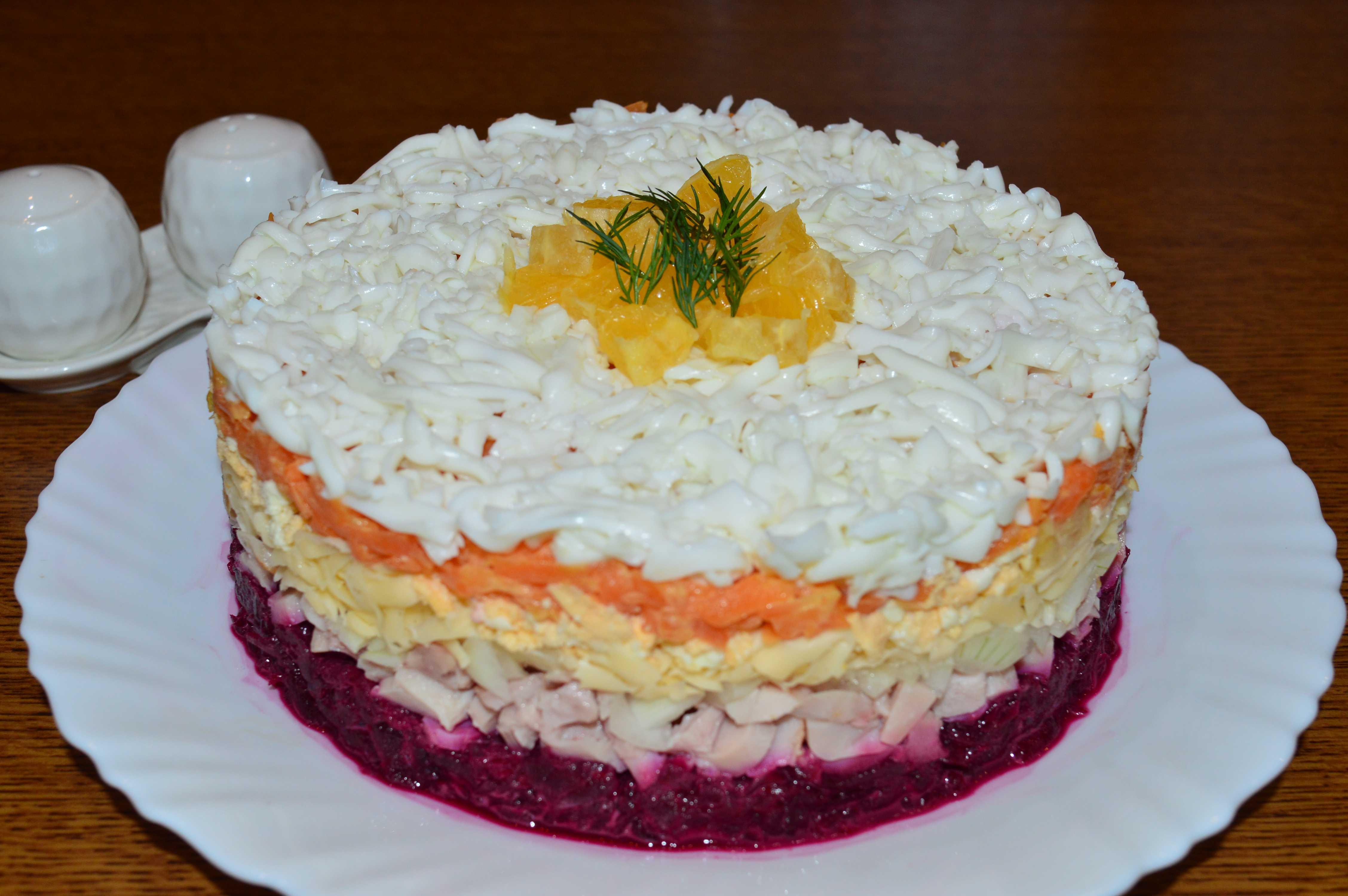 Салат зимний с соленым огурцом и морковью рецепт с фото пошагово - 1000.menu