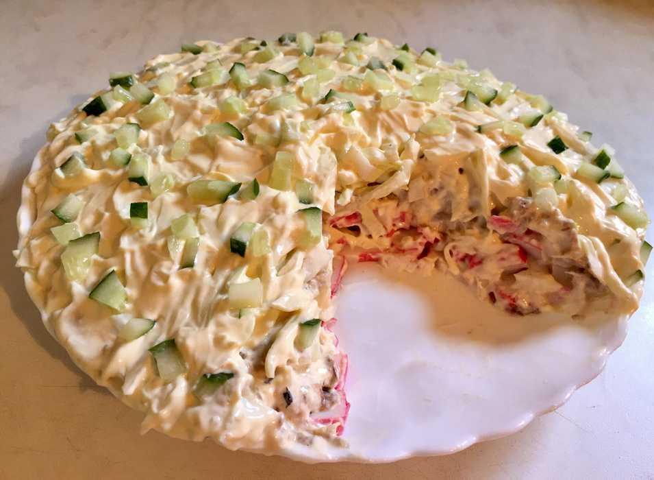Салат нептун. 7 рецептов приготовления салата с морепродуктами