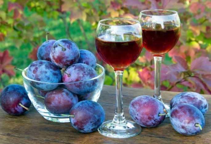 Сливовое вино в домашних условиях: простой рецепт приготовления.