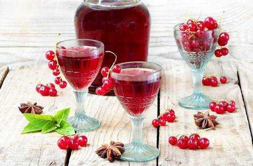Ликер из красной смородины: рецепт, из замороженных ягод ассорти