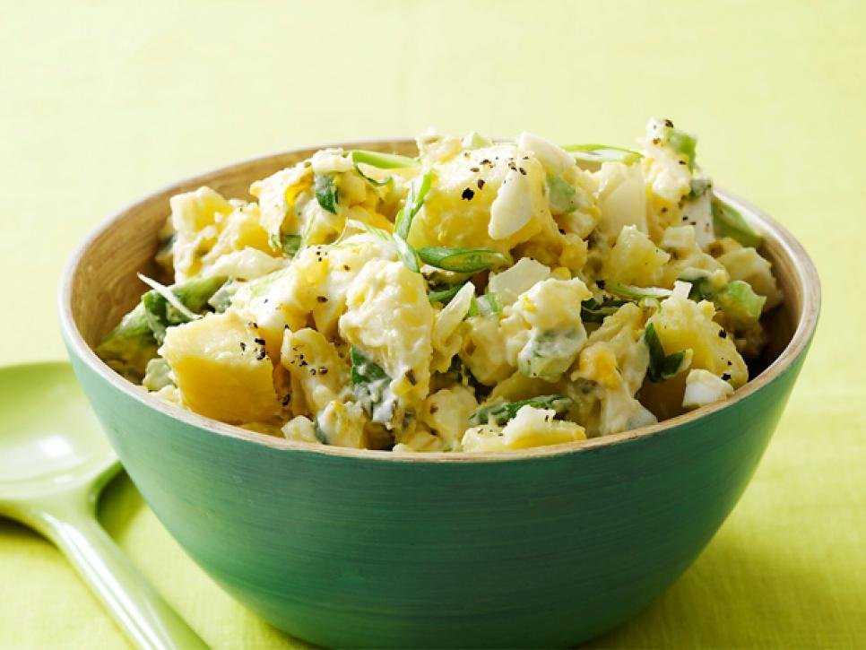 Как приготовить тёплый картофельный салат | меню недели