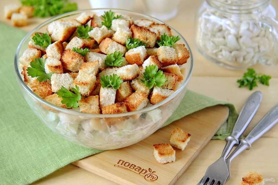 Салат с плавленным сыром и курицей — 7 классных рецептов