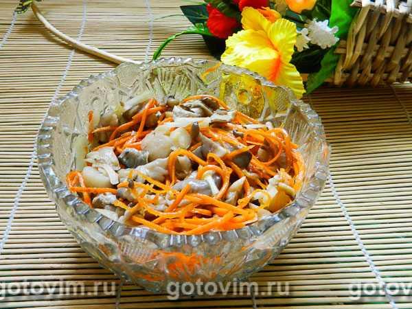 Пошаговый рецепт приготовления шампиньонов по-корейски с фото