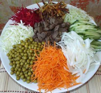 Салат чафан