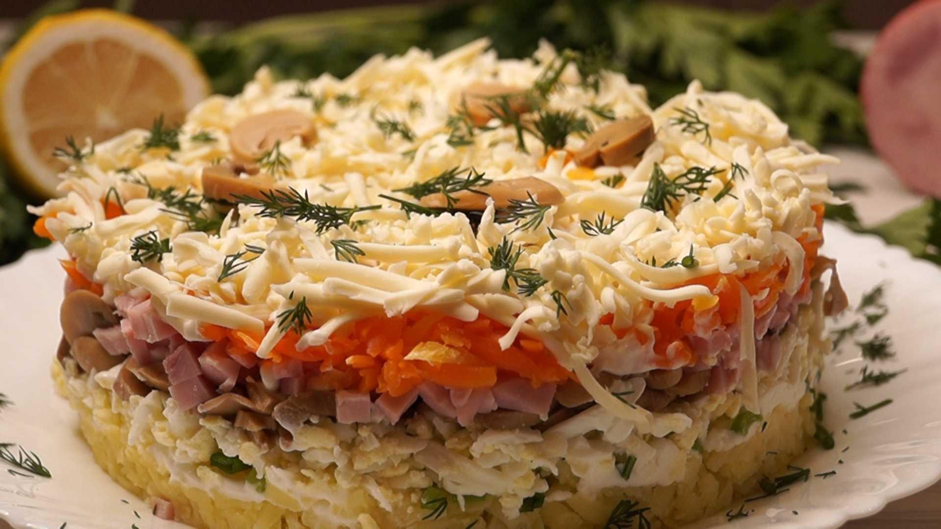 Салат с апельсинами и курицей - 10 лучших рецептов (с фото)