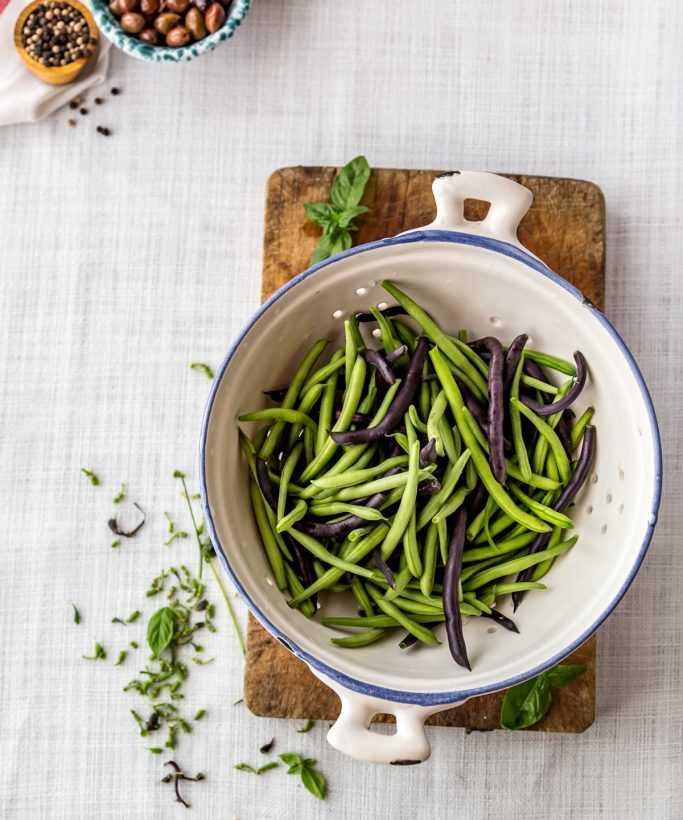 Салат из зеленой фасоли — секретное оружие диетологов: рецепт с фото и видео