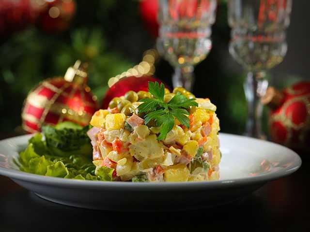 Новогодний салат елочки-иголочки рецепт с фото пошагово и видео - 1000.menu