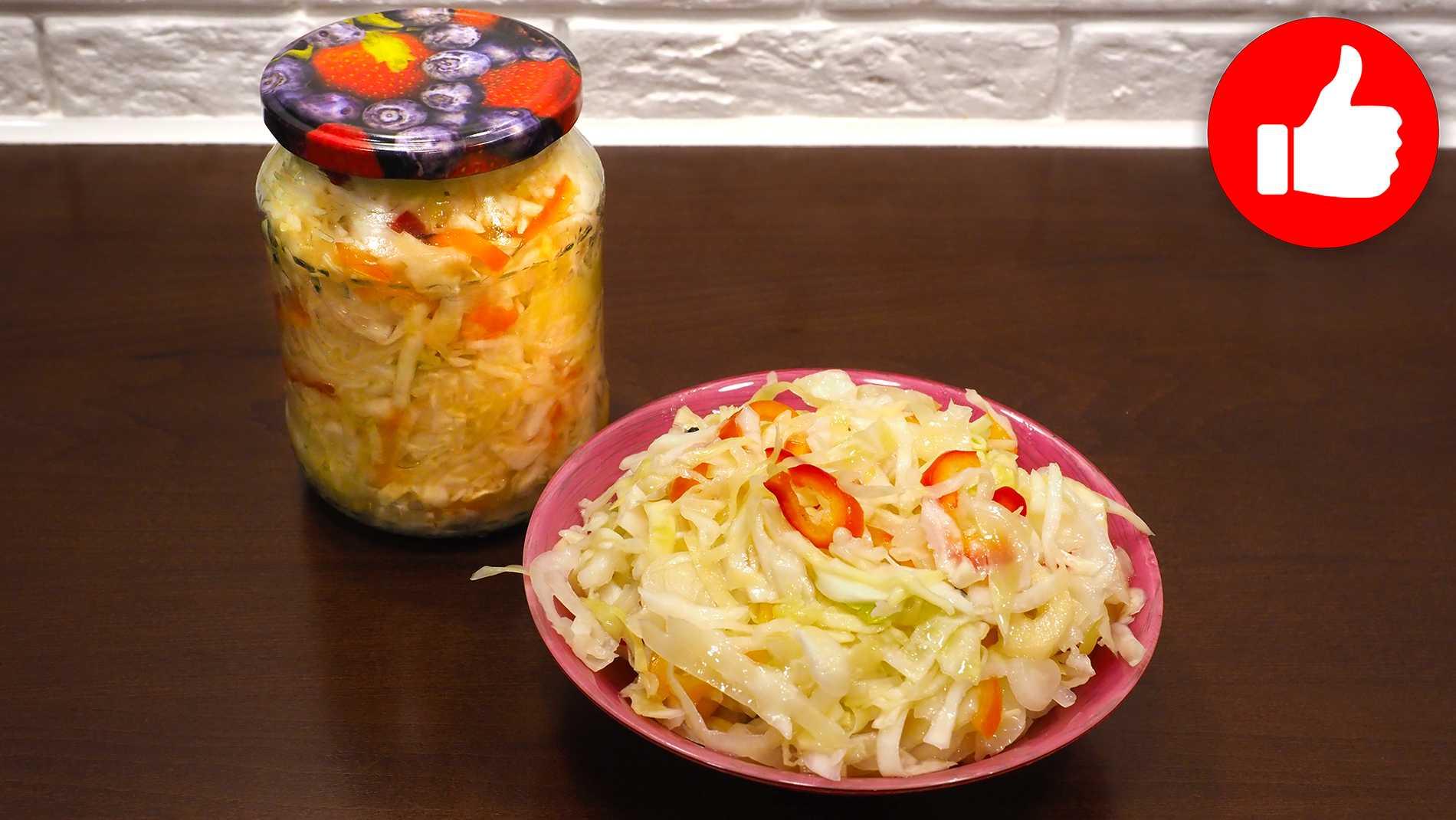 Капуста с яблочным уксусом: лучшие рецепты быстрого приготовления, подробное описание готовки