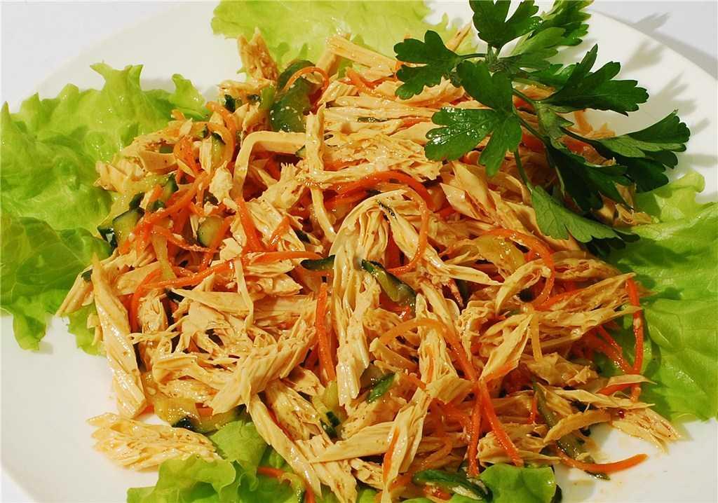 Салат из спаржи - 7 рецептов из свежей, зеленой, с фото пошагово