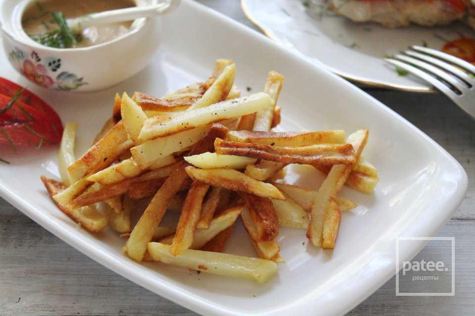 Хрустящая жареная картошечка — секреты приготовления