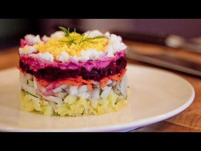 Красивый быстрый салат к празднику за 5 минут рецепт с фото пошагово и видео - 1000.menu