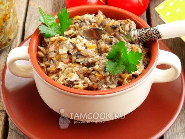Грибная икра на зиму: правила и особенности приготовления. Рецепты с лесными грибами, овощами и рисом. Икра в мультиварке. Правила хранения.
