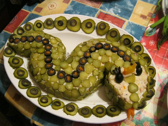 Рецепты салат змейка