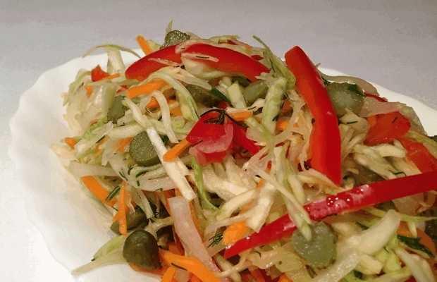 Салат «охотничий» на зиму - рецепты вкусной и сытной закуски