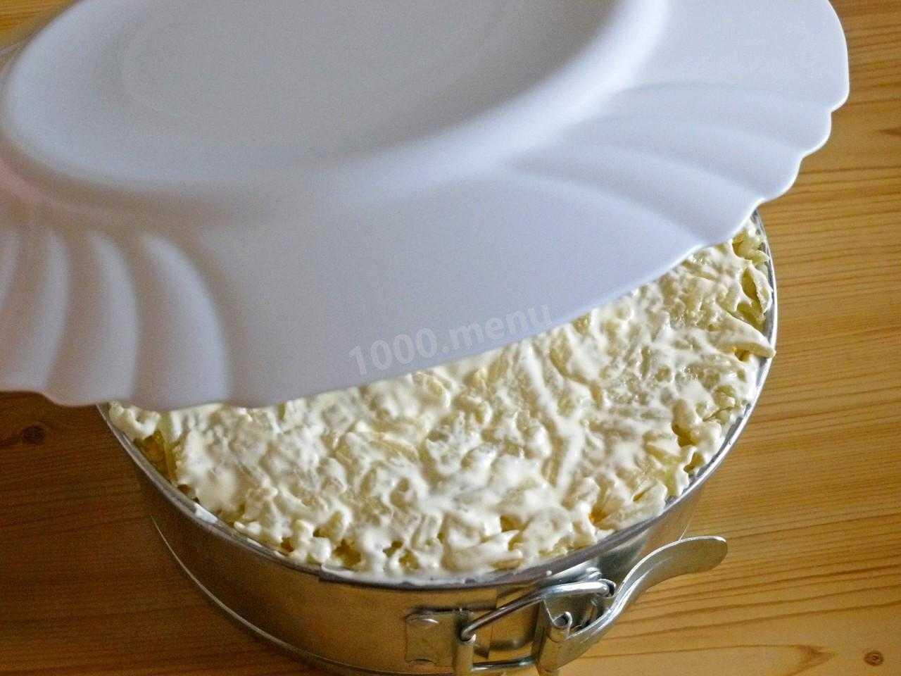 Салат грибная тайна рецепт с фото пошагово - 1000.menu