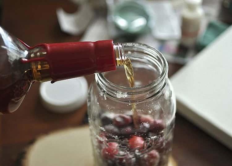 Домашние рецепты настойки клюквы на коньяке. как сделать своими руками?
