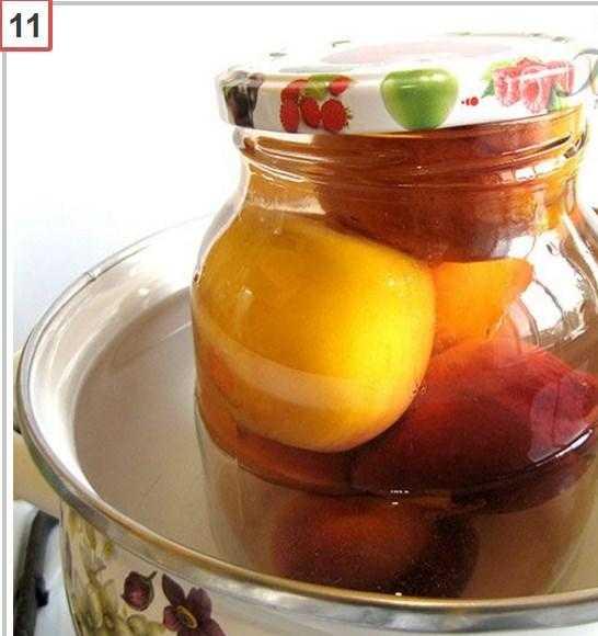 Компот из персиков на зиму: рецепты на 3 литровую банку