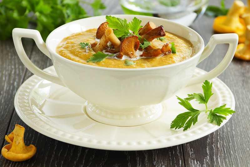 Суп-пюре из тыквы со сливками: рецепты приготовления с фото пошагово
