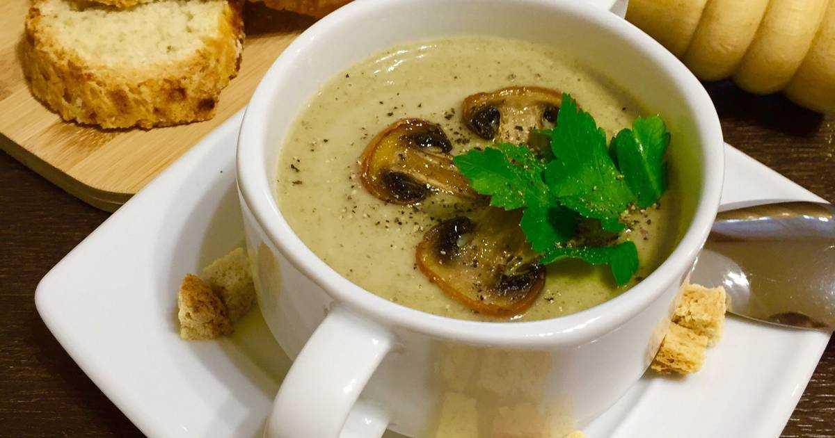 ✅ диетический крем-суп из шампиньонов: рецепты низкокалорийных супов-пюре из грибов, правильное питание - tehnoyug.com