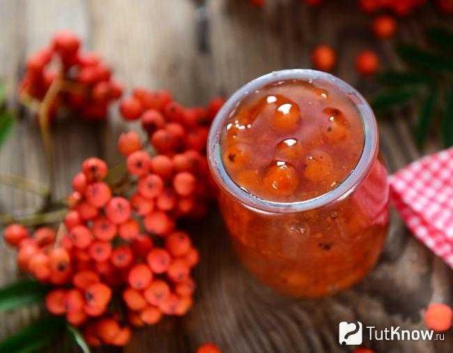Приготовления варенья из красной рябины: простые рецепты для создания в домашних условиях